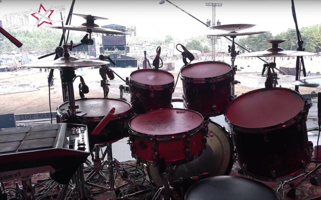 "Pol'and'Rock Festival 2018 od perkusyjnej kuchni: Gniewomir ""Gnievo"" Telszewski (Hope)"