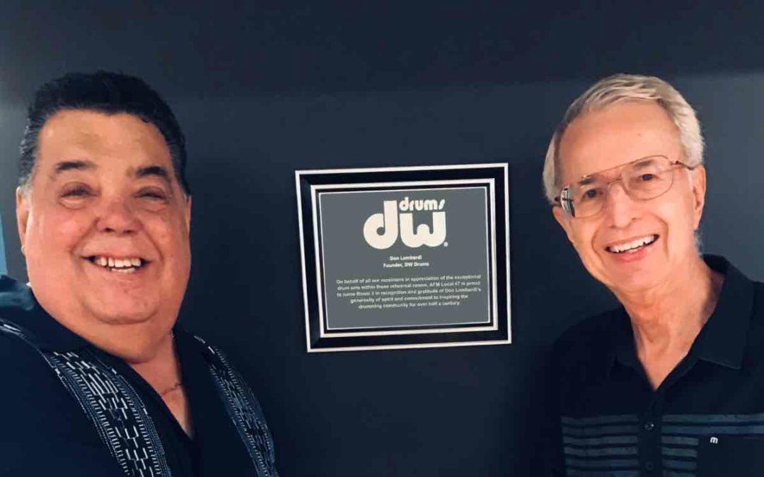 Amerykański Związek Muzyków uhonorował założyciela DW