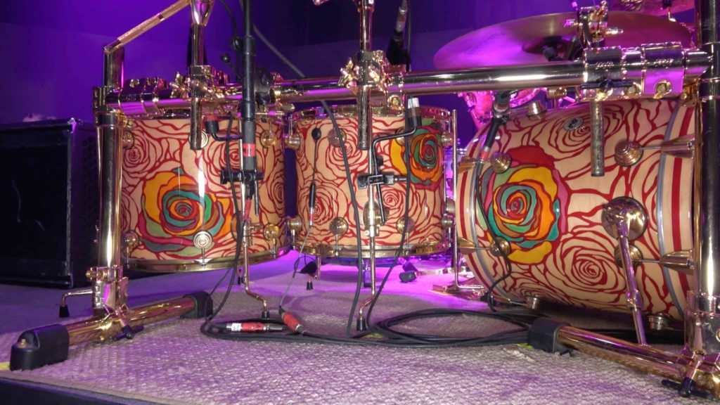 Jose Pasillas (Incubus) prezentuje swój zestaw perkusyjny