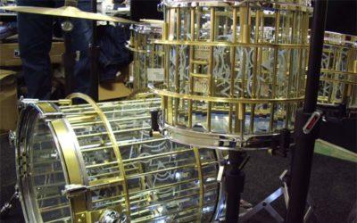 Orlich Glass Drums – Bębny ze szkła!