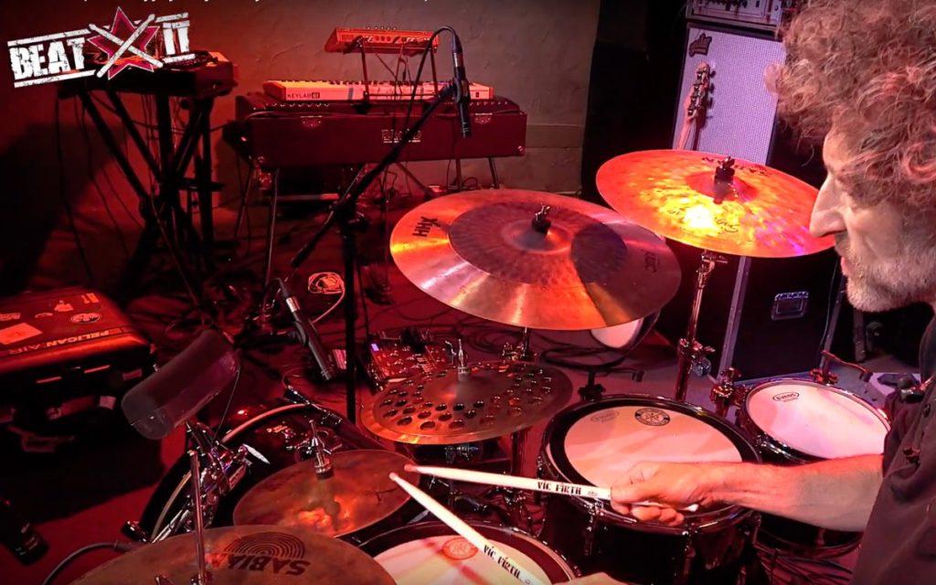 Jojo Mayer prezentuje swój zestaw perkusyjny