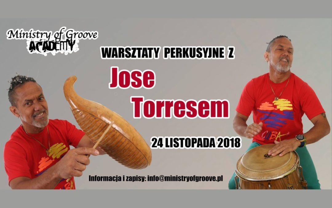 Warsztaty Perkusyjne z Jose Torresem!