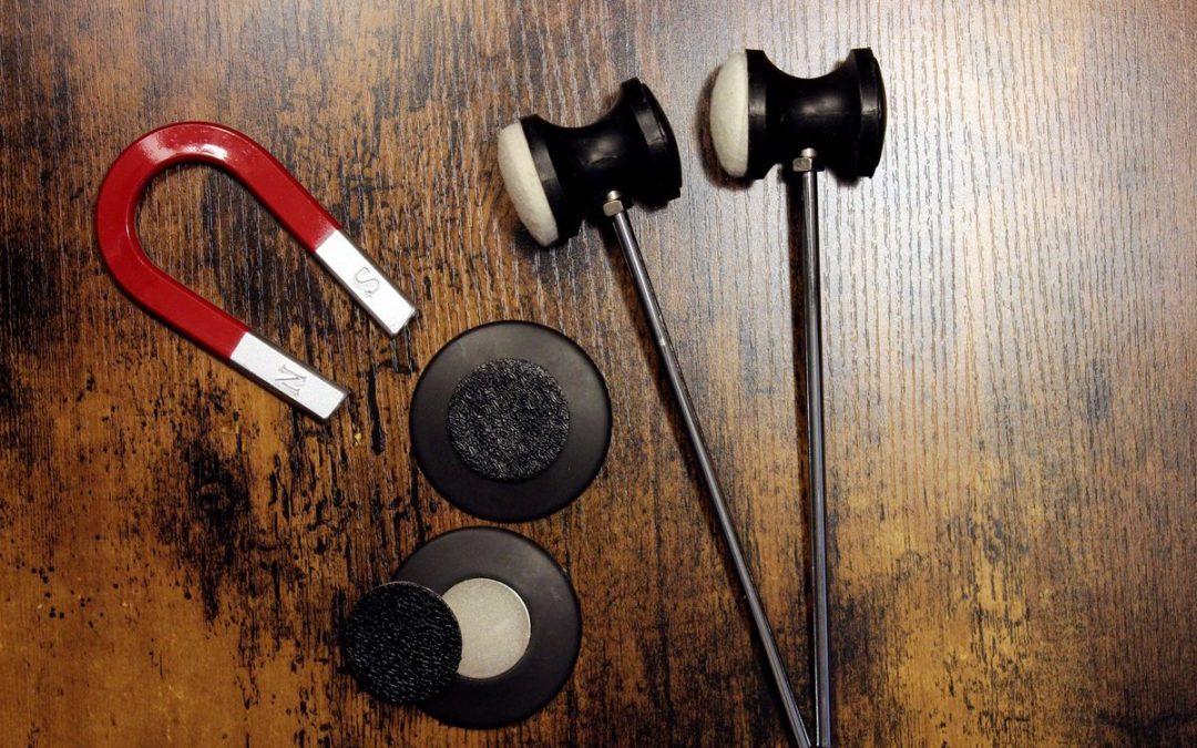 Magnetyczne bijaki od firmy Mo Drumsticks