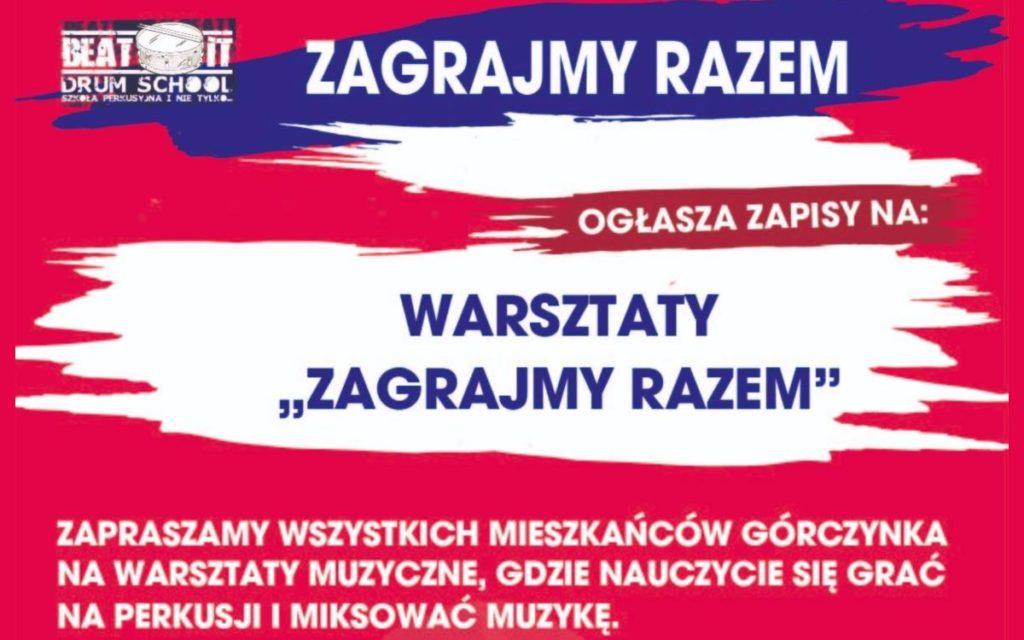 """Warsztaty BeatIt: """"Zagrajmy Razem"""""""