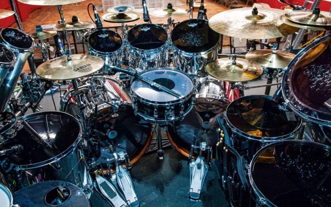 Mike Portnoy i jego zestaw w Sons Of Apollo
