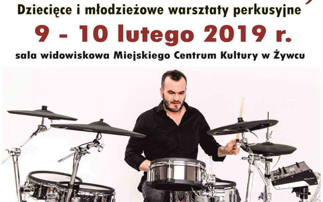 Ferie Z Perkusją – dziecięce i młodzieżowe warsztaty perkusyjne w Żywcu