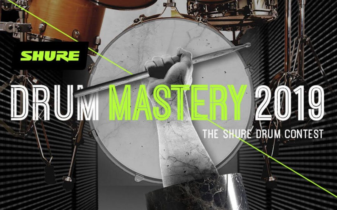 "Wyniki konkursu ""Drum Mastery 2019"" – The Shure Drum Contest"