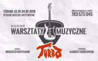 Pomysł na ferie: warsztaty z muzykami zespołu Turbo