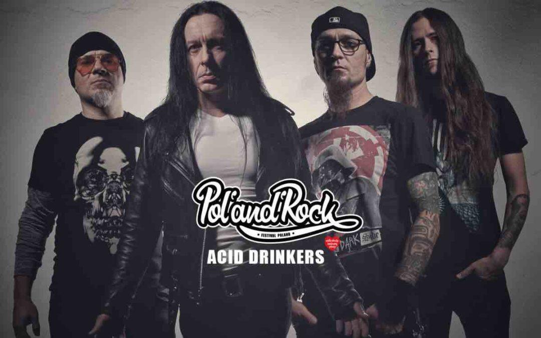 Acid Drinkers pierwszą polską gwiazdą na Festiwalu Pol'and'Rock!