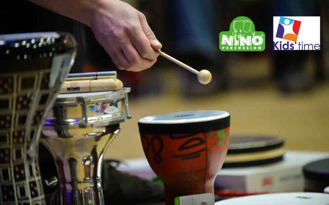 NINO Percussion na targach KIDS' TIME w Kielcach