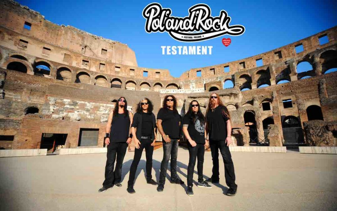 Zespół Testament na Pol'and'Rock Festiwal 2019!
