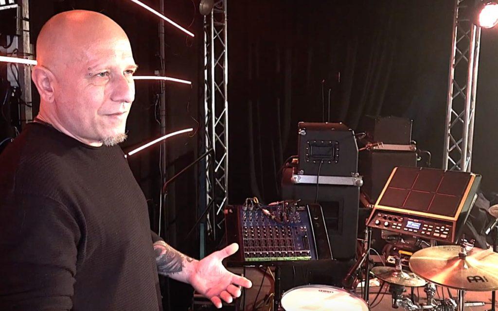 Zestaw perkusyjny Adama Marszałkowskiego