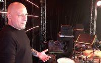 Adam Marszałkowski (Coma) prezentuje swój zestaw perkusyjny