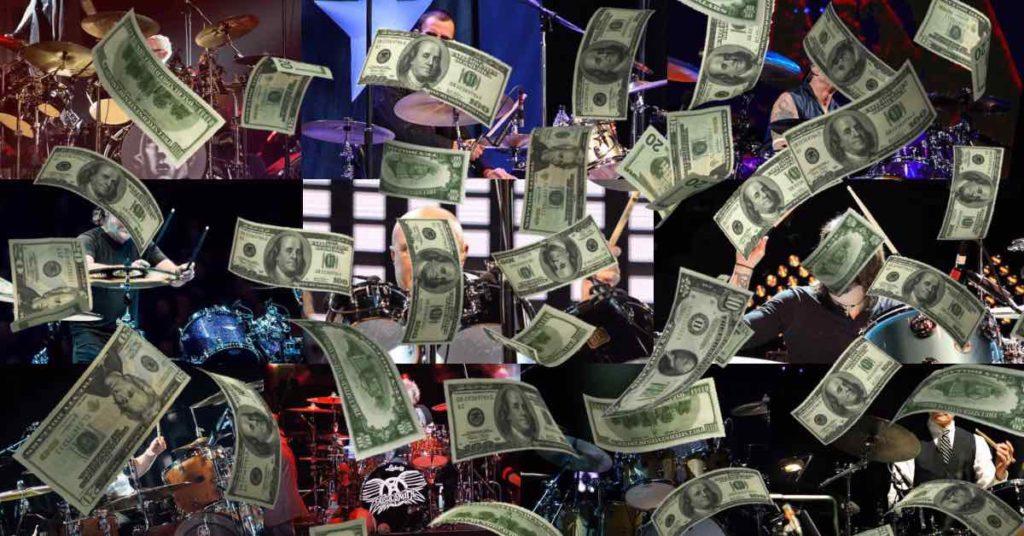 10 najbogatszych perkusistów świata