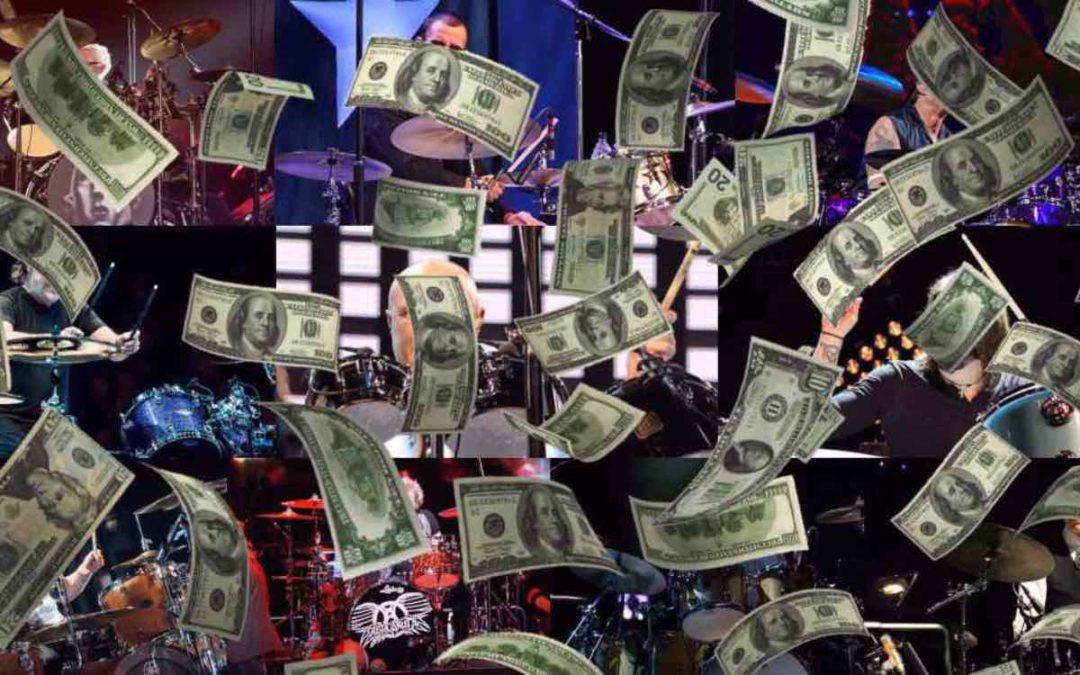 10 najzamożniejszych perkusistów na świecie