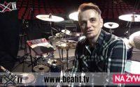 Gavin Harrison prezentuje swój zestaw perkusyjny na trasie z King Crimson