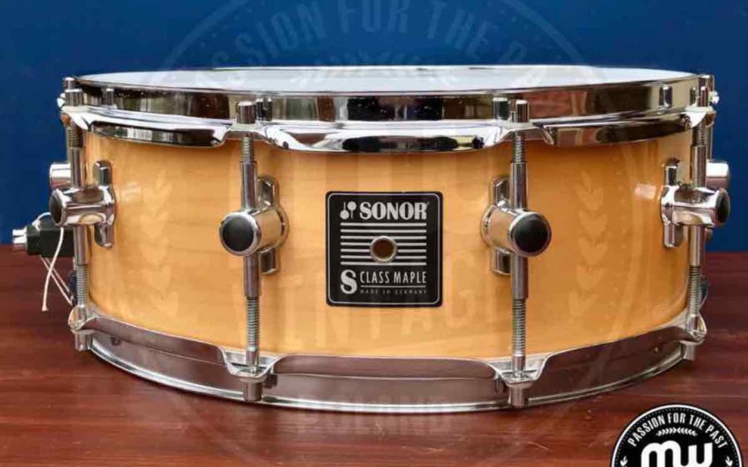 Vintage test BeatIt: werbel Sonor S-Class Maple 14″ x 5″