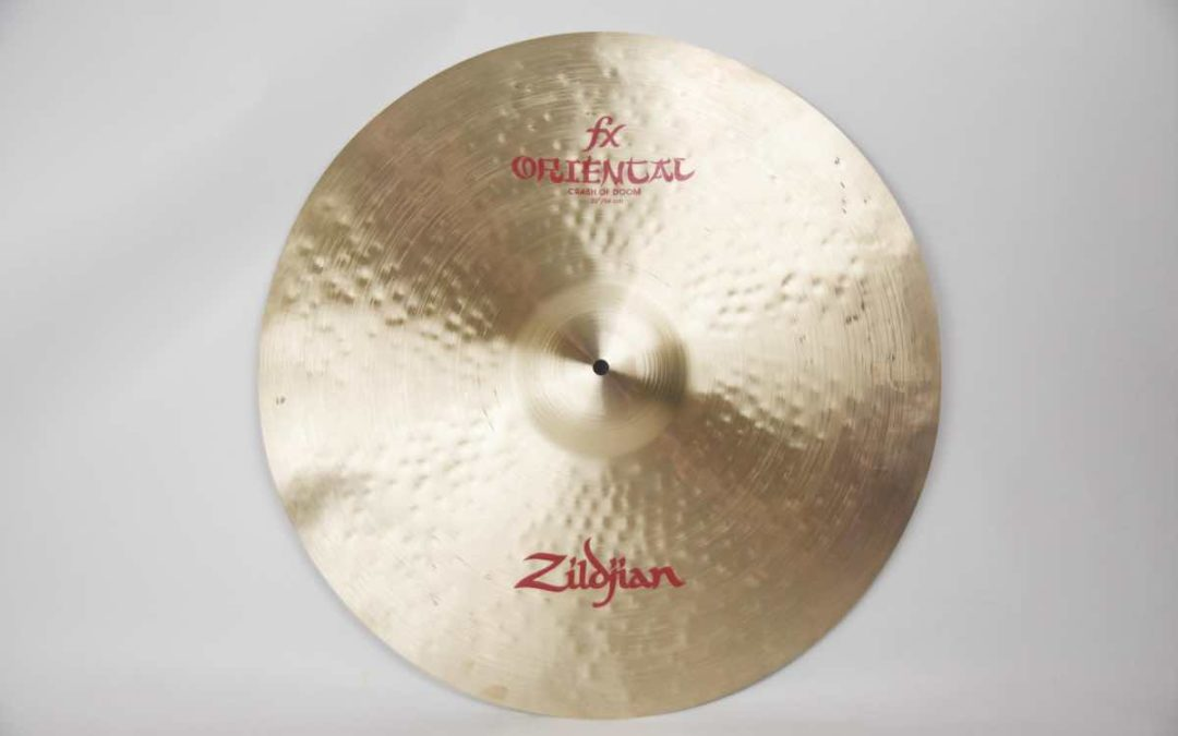 Test BeatIt: Zildjian FX Oriental Crash of Doom 22″