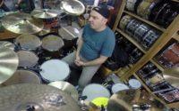Gabor Dornyei w kampanii pedałów perkusyjnych firmy Pearl!