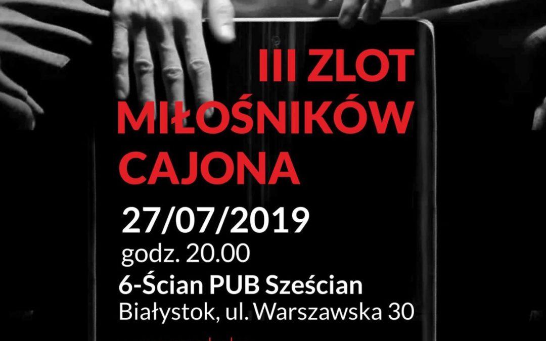 III Zlot Miłośników Cajona w Białymstoku