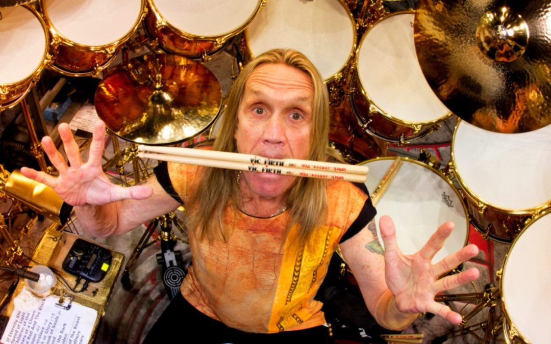 Nicko McBrain o zastąpieniu Clive'a Burra w Iron Maiden