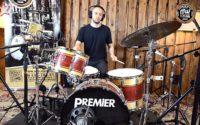 Vintage Test BeatIt: zestaw perkusyjny Premier Soundwave