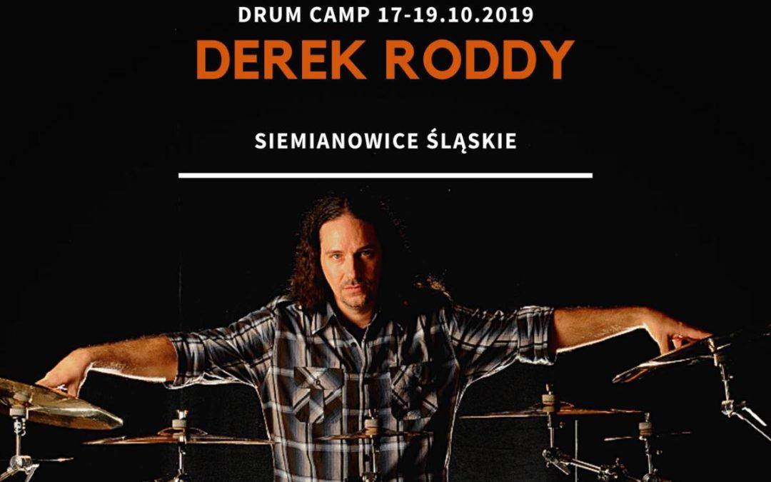 Derek Roddy Drum Camp – Siemianowice Śląskie
