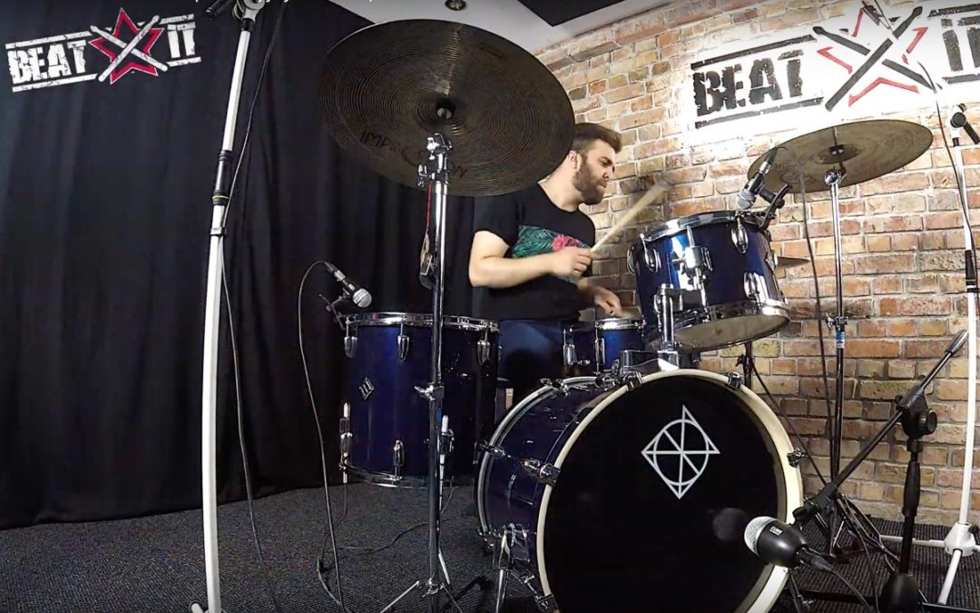 "Drum Cam BeatIt: Jakub Martuzalski (RusT) – ""Be yourself"""