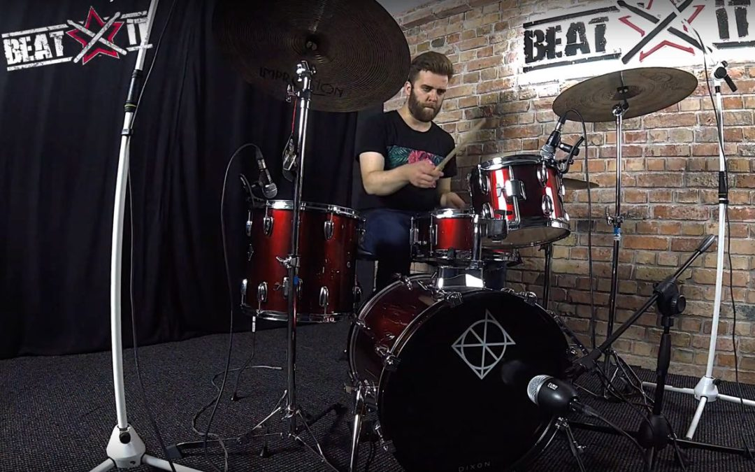 "Drum Cam BeatIt: Jakub Martuzalski (RusT) – ""Balloon"""