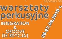 Kolejna edycja warsztatów perkusyjnych Integration & Groove