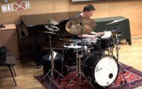 René Creemers prezentuje swój zestaw perkusyjny
