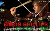Warsztaty perkusyjne z Simonem Phillipsem