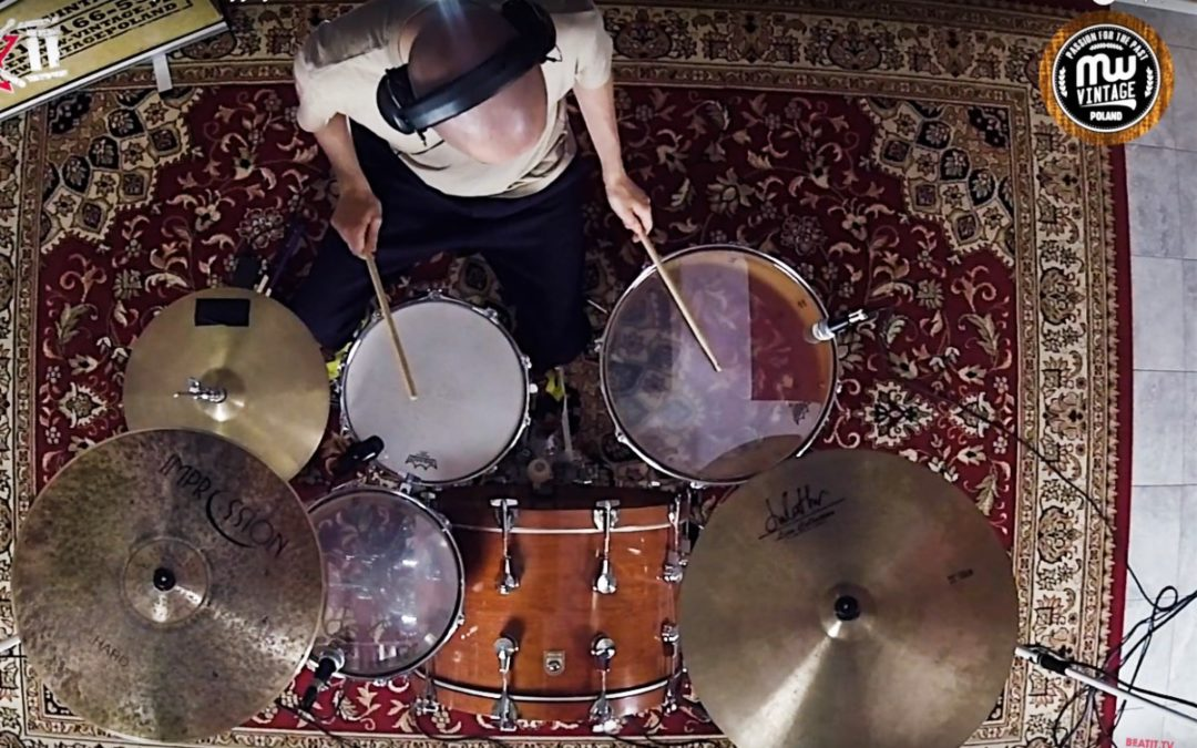 Vintage Test BeatIt: zestaw perkusyjny Hoshino Camco Heritage