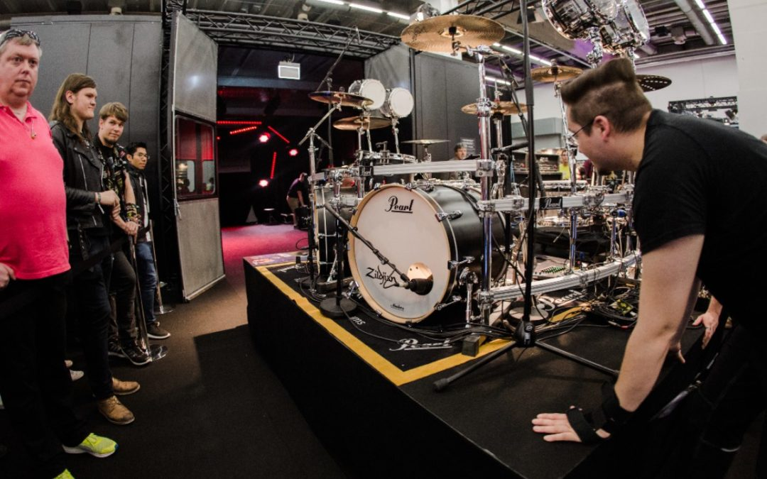Perkusyjny Line-up na targach Musicpark 2019