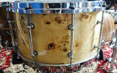Vintage Test BeatIt: werbel Keller Maple Custom Exotic 14″ x 8″