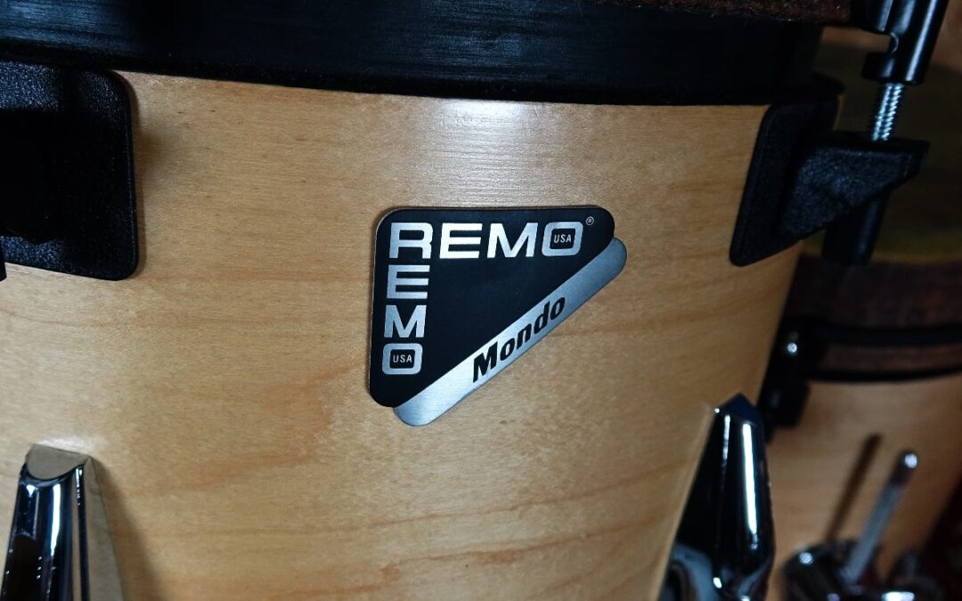 Vintage Test BeatIt: zestaw perkusyjny Remo Mondo
