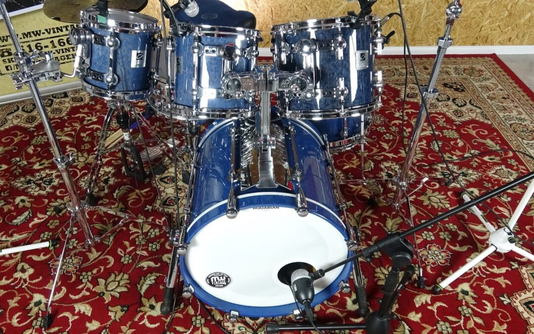 Vintage Test BeatIt: zestaw perkusyjny Sonor Designer
