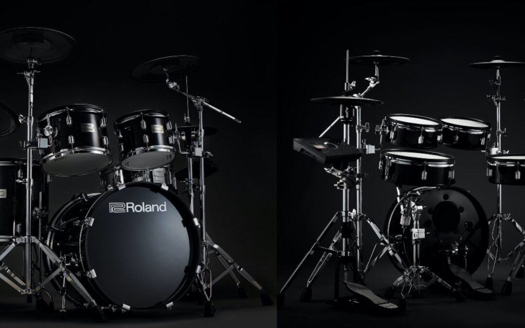 ROLAND V-Drums Acoustic Design!