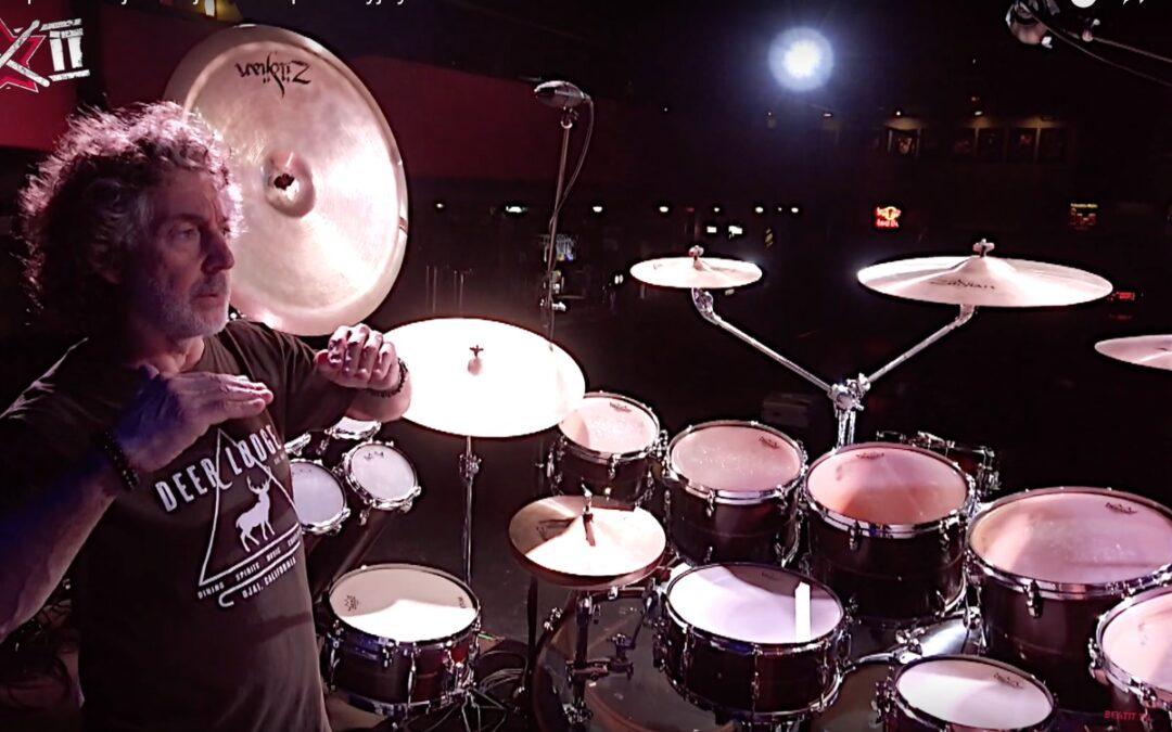 Simon Phillips prezentuje swój zestaw perkusyjny