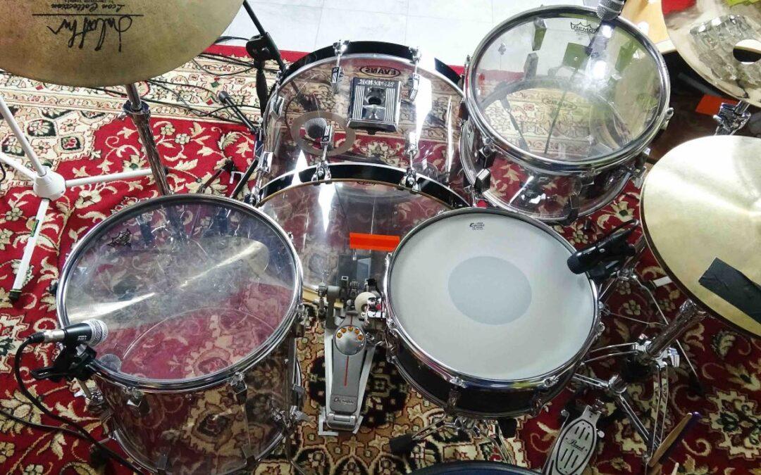 Vintage Test BeatIt: zestaw perkusyjny Sonor Phonic Acrylic