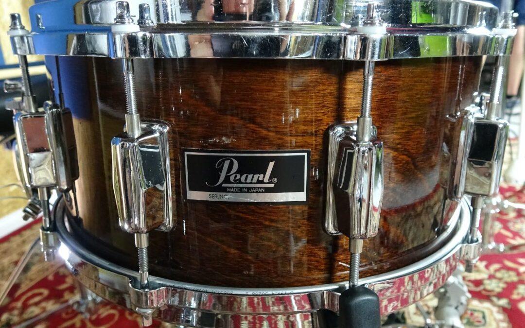 Vintage Test BeatIt: werbel Pearl DLX Birch