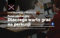 Panel edukacyjny BeatIt #4: Dlaczego warto grać na perkusji