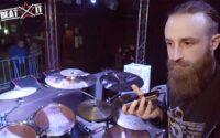 James Stewart przedstawia swój zestaw perkusyjny