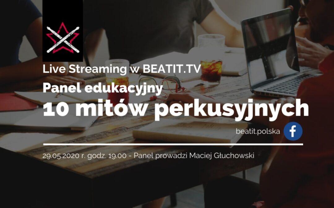 Panel edukacyjny BeatIt #5: Mity perkusyjne