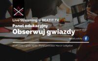 Panel edukacyjny BeatIt #7: Obserwuj gwiazdy