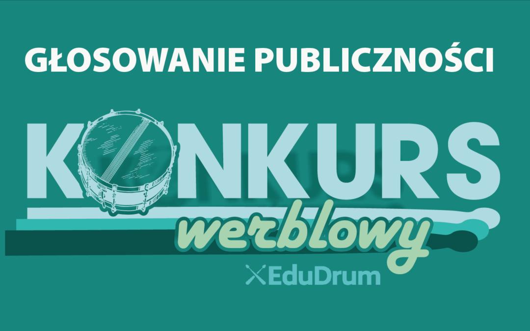 Głosowanie publiczności – konkurs werblowy EduDrum