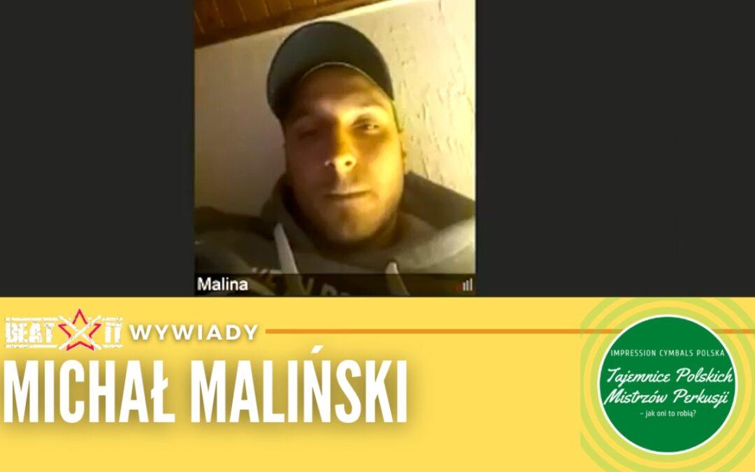 Michał Maliński opowiada o o kulisach powstania projektu Tajemnice Mistrzów Polskiej Perkusji