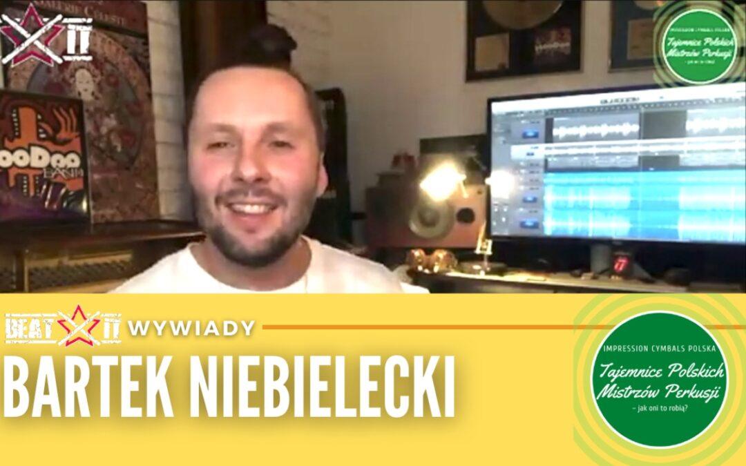 Bartek Niebielecki opowiada o o kulisach powstania projektu Tajemnice Mistrzów Polskiej Perkusji