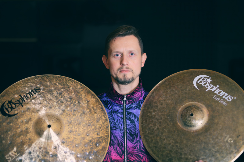 Robert Rasz pierwszym polskim endorserem Bosphorus Cymbals