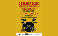 Ogólnopolski Konkurs Talentów Muzycznych pamięci Alexa Popka